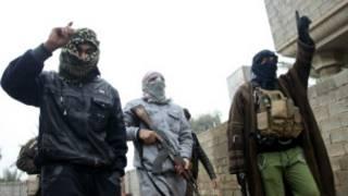 'Yan bindiga a Fallujah