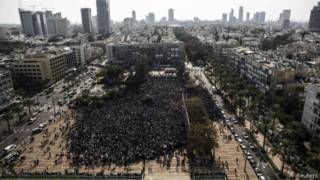 Демонстрация в Тель-Авиве