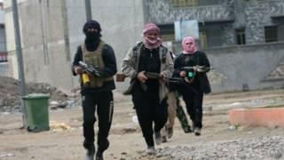 Боевики в Фаллудже