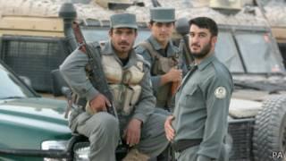 Афганские полицейские