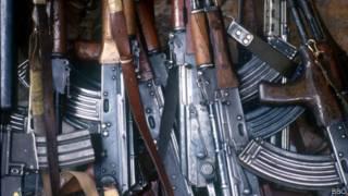 muchos fusiles