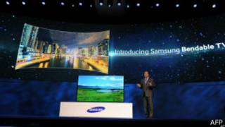 Samsung univels its new bundale tv