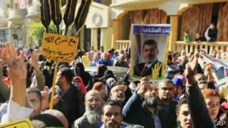 Протест в поддержку Мохаммеда Мурси