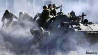 Тренировка спецназа в Ставрополе
