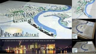 Mô hình khu vực Cảng Sài Gòn trong tương lai