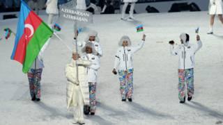 Представители Азербайджана на Олимпиаде в Ванкувере