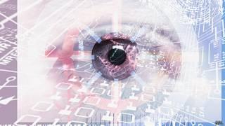 Ilustración acerca de la vigilancia y censura en internet.