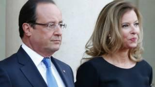Первая леди Франции Валери Триервейлер