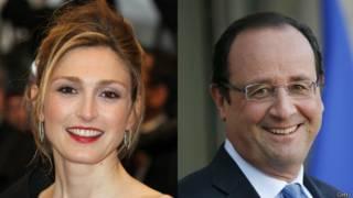Julie Gayet e Francois Hollande (foto: Getty)