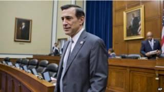 Член палаты представителей Конгресса США Даррелл Исса