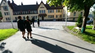 Escola de Lundsberg. Foto: AP