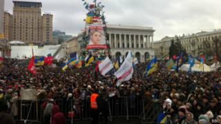 Евромайдан, вече