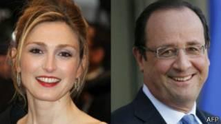 Francois Hollande y Julie Gayet