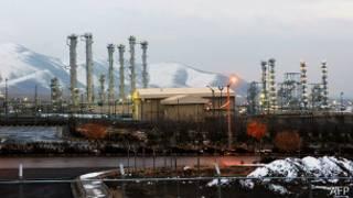 Иранский ядерный объект в Араке (15 января 2011 года)