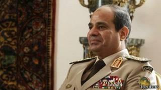 Field Marchal Abdul Fatta al-Sisi