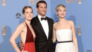 Amy Adams, Bradley Cooper, Jenifer Lawrence