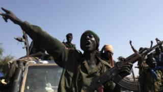 Un rebelle sud-soudanais