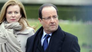 François Hollande e Valérie Trierweiler | Foto: AFP