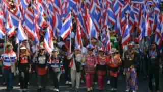 المظاهرات في تايلاند