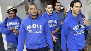 Estudiantes cubanos en Miami