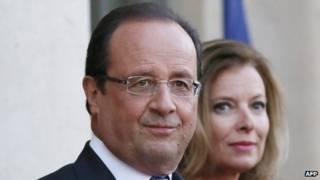 الرئيس الفرنسي، فرانسوا هولاند