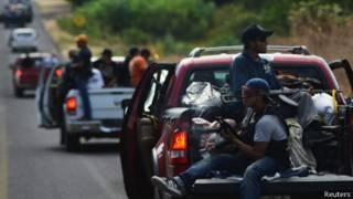 Отряды дружинников в Мексике