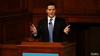 George Osborne, ministro de Finanzas del Reino Unido
