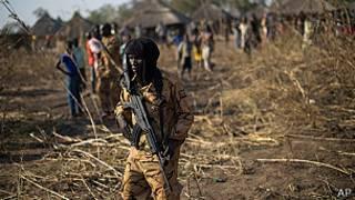 Un soldado sudanés