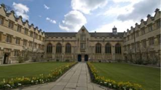 牛津大學學院