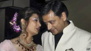 Сунанда и Шаши Тарур