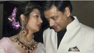 sashi tharoor and wife