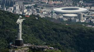 Turismo no Corcovado. Foto: AFP