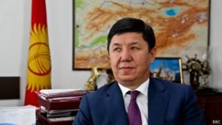 Министр экономики Киргизии Темир Сариев