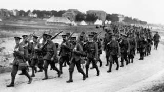 Солдаты Первой мировой войны