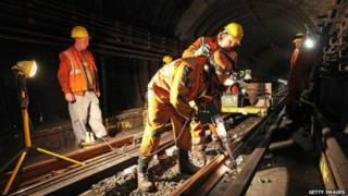Ночная работа в лондонском метро