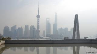 Pudong, distrito de Shangái