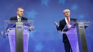 Erdoğan ve Van Rompuy