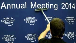 Fórum de Davos. Foto: AP