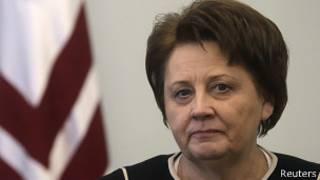 Новый премьер-министр Латвии Лаймдота Страуюма