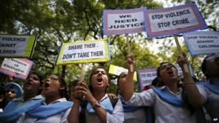 भारत में बलात्कार विरोधी प्रदर्शन