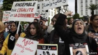 البرلمان المغربي يوافق بالإجماع على تعديل مادة في قانون العقوبات بهدف حماية ضحايا الاغتصاب.