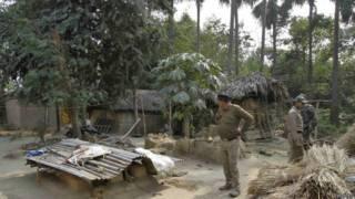 बीरभूम में पश्चिम बंगाल पुलिस