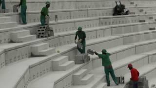 Pembangunan stadion di Curitiba