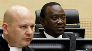 Uhuru Kenyatta yari yagirijwe guteza ubwicanyi bwo mu 2008