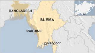 rakhine map
