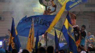 Torcedores do Boca Juniors. Foto: Reuters