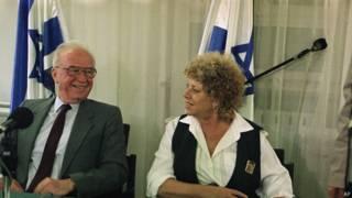الزعيمة اليسارية الاسرائيلية والوزيرة السابقة شولاميت ألوني