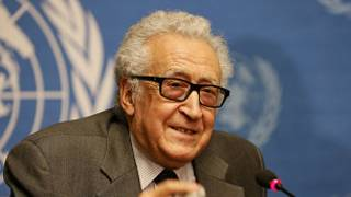 Lakhdar Brahimi, le médiateur de l'ONU sur la crise syrienne