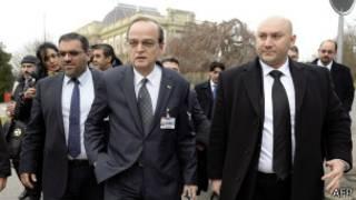 Ujumbe wa upinzani wa Syria katika mkutano wa Geneva