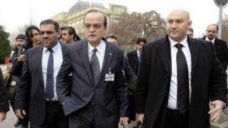 Wakilan tattaunawa kan Syria a Geneva